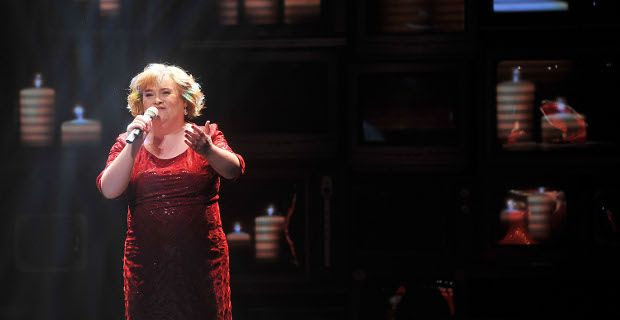 Susan Boyle nel film di natale 2013 The Christmas Candle
