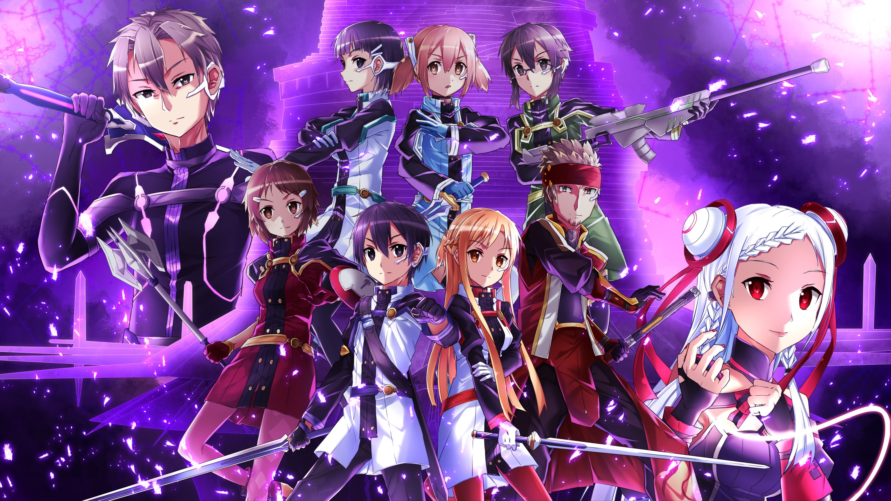Sword Art Online Ordinal Scale Hd Anime Top Wallpaper