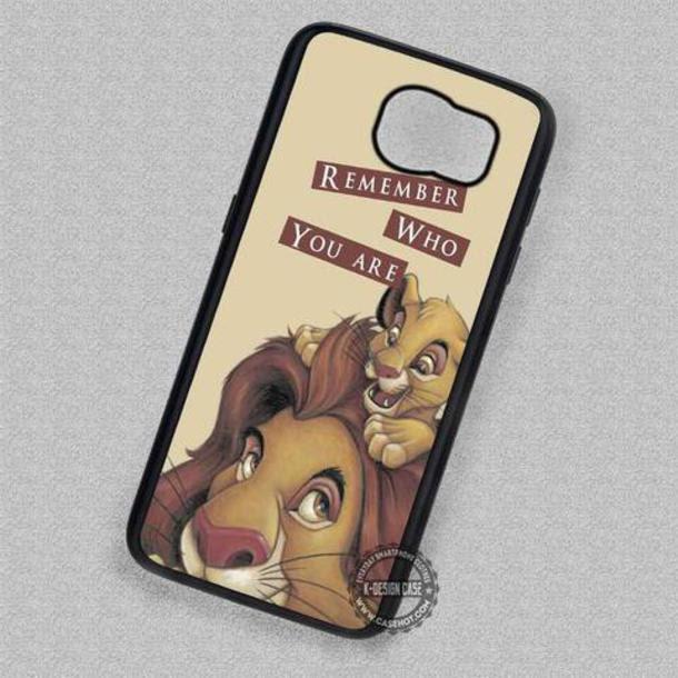 Phone Cover Cartoon Disney The Lion King Hakuna Matata Simba