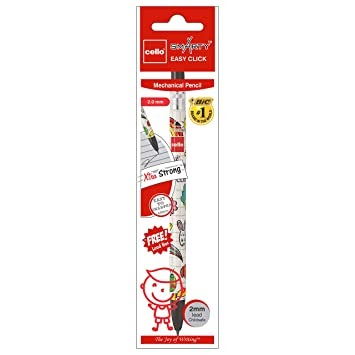 Cello Smarty Easy Click Mechanical Pencil - Pack of 20