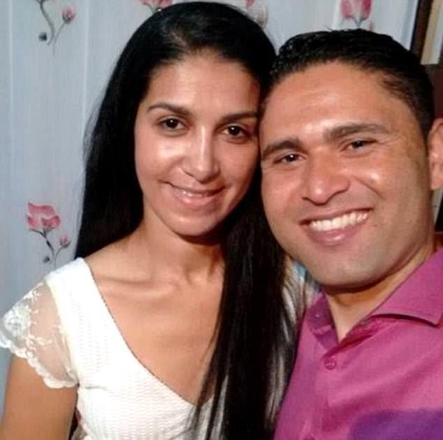 Rosemere do Nascimento Silva (retratado com seu noivo, Udirley Damasceno), de São Paulo no Brasil, foi morto junto com outros três - o piloto, seu irmão e uma fotógrafa grávida