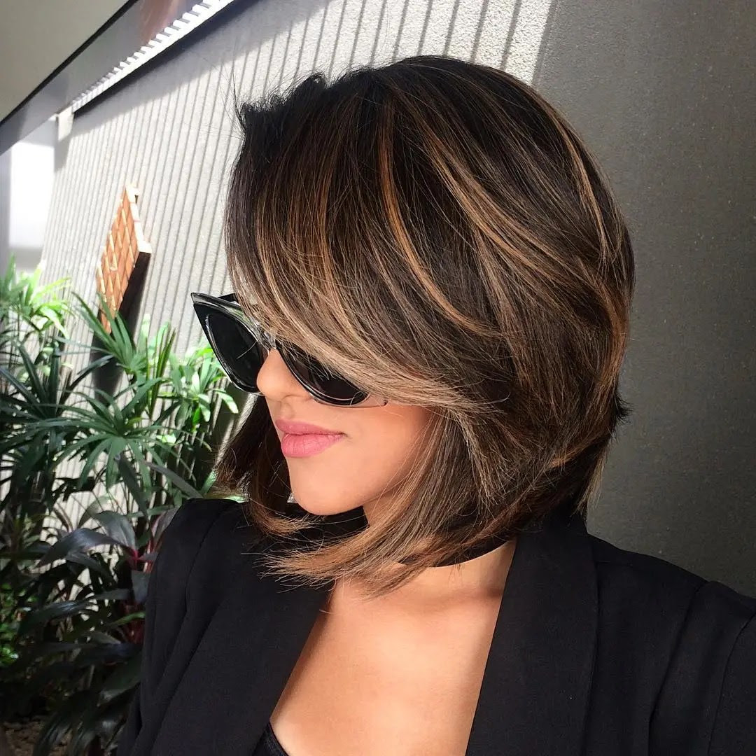 30 Short Hair Color For Tan Skin Top Style
