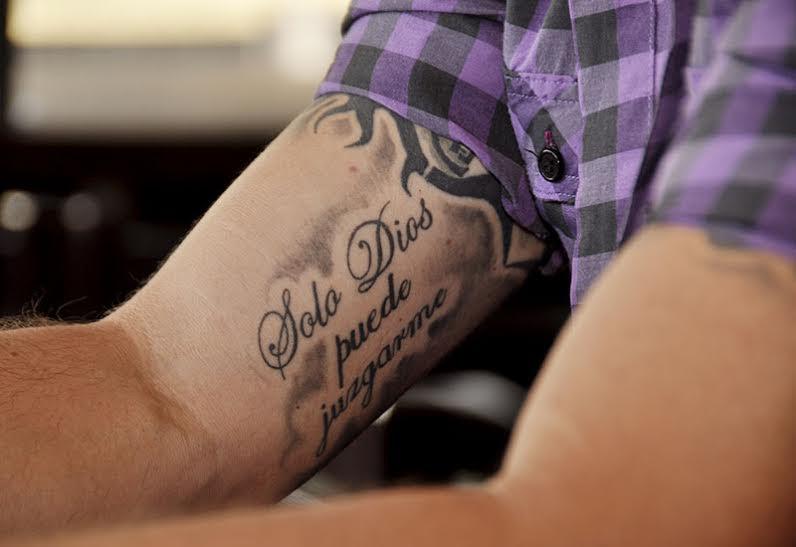 Dios Conmigo Quien Contra Mi Tattoo Wwwimagenesmycom
