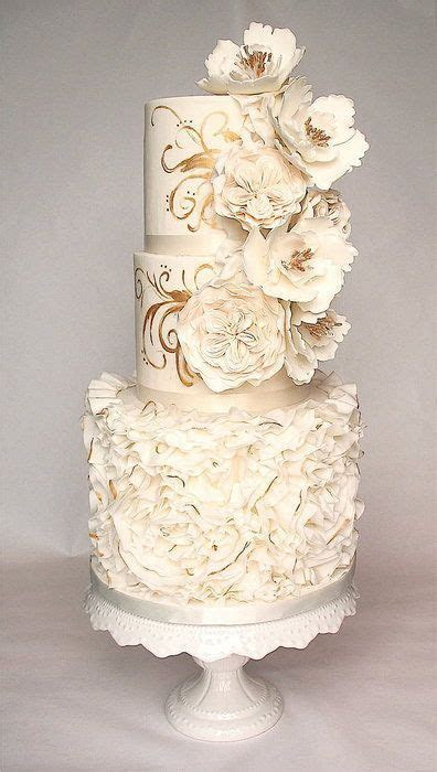 Ten Beautifully Hand Painted Wedding Cakes   Kavita Mohan