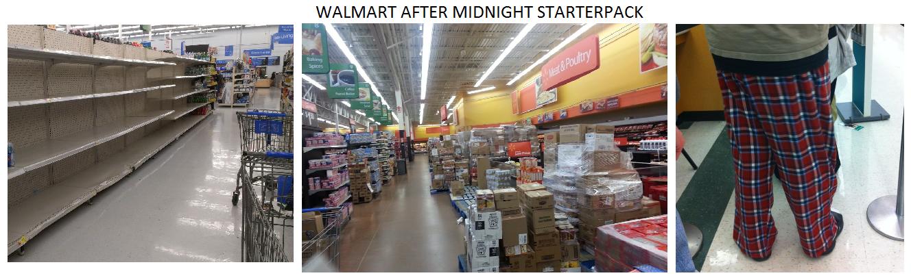 Walmart After Midnight Starterpack Starterpacks
