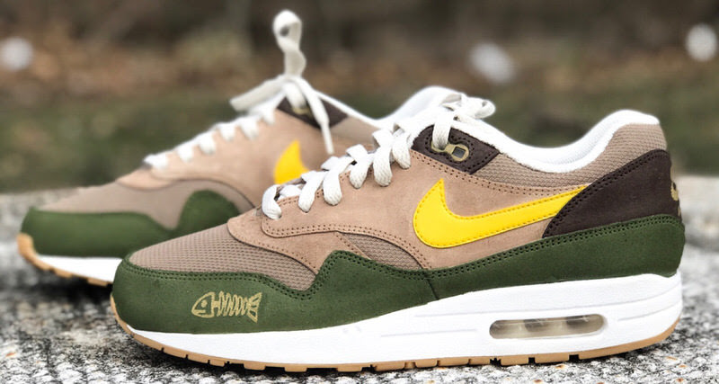 Nike Air Max 1 \u0026quot;Goldfish\u0026quot; Custom by Malcolm Garret  Nice Kicks