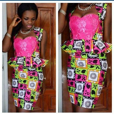 Beautiful Ankara Skirt and Blouse Design http://www