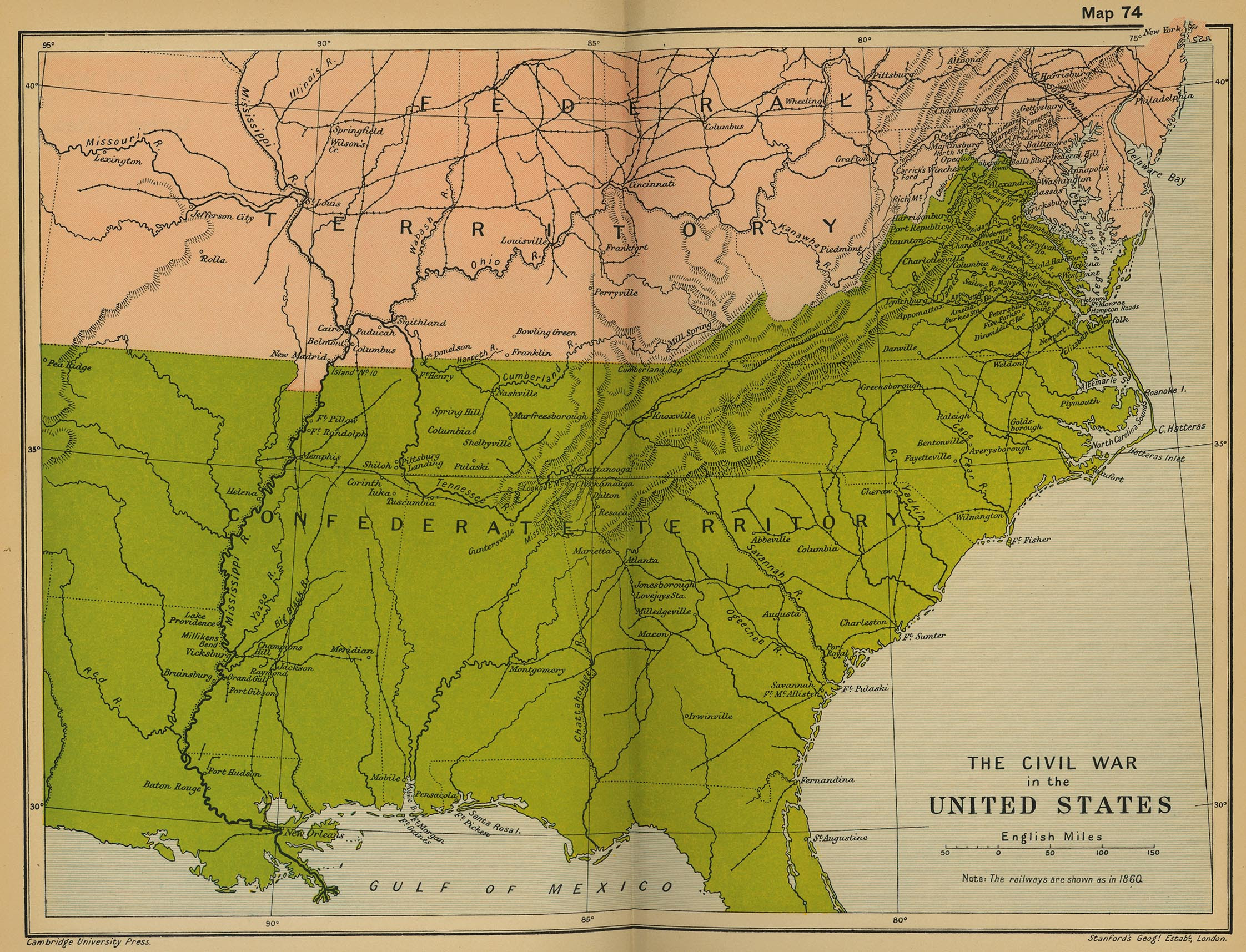 Mstartzman Confederate States Of America Fourth United States - Map of the us during civil war