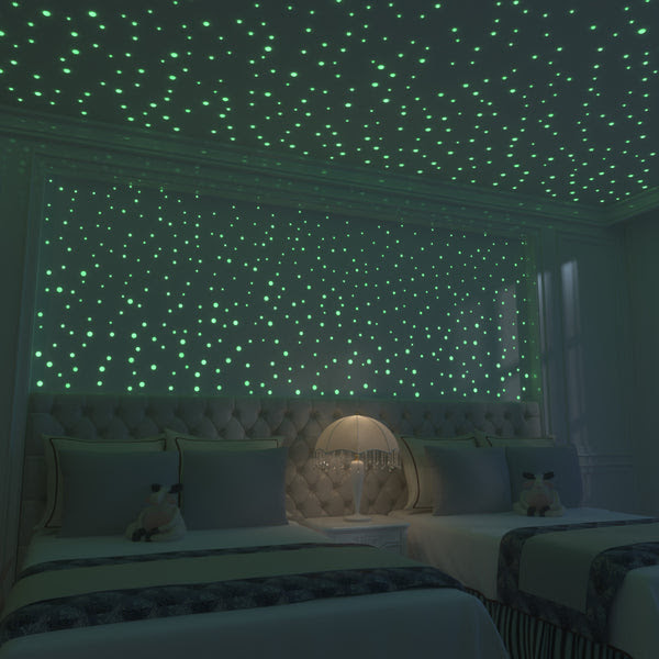 Glow In The Dark Stars 824 Realistic 3d Stars For Ceiling Or Walls