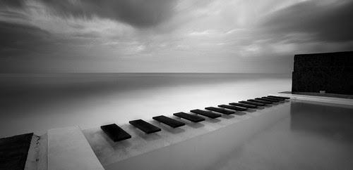 Piano en el mar