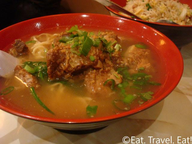 Soft Spareribs Noodle Soup