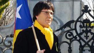 Joaquín Reyes, disfressat de Carles Puigdemont (Vertele/eldiarioes)