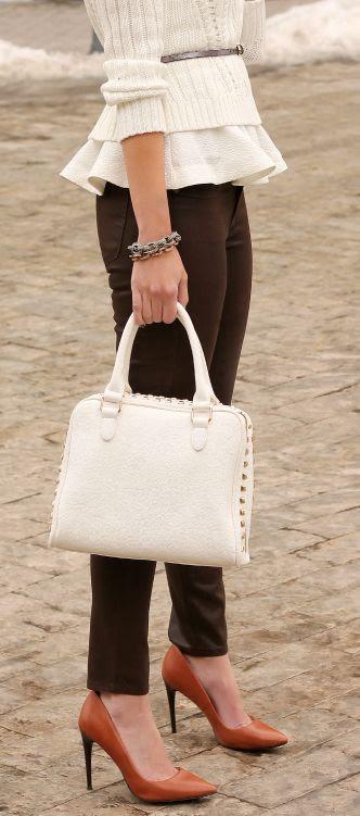 Ruffled In Cream by Penny Pincher Fashion
