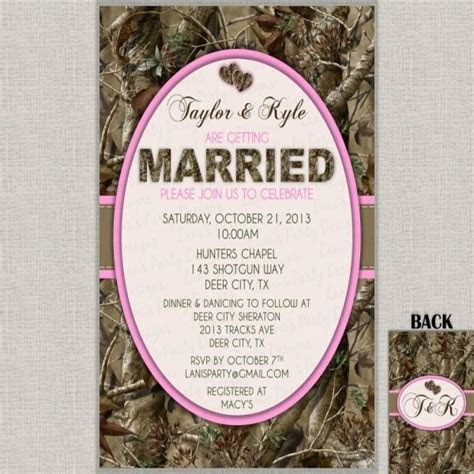 17 Best ideas about Redneck Wedding Invitations on