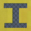 Fabric letter I