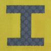 Fabric letter I