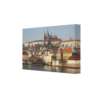 Prague! Canvas Print wrappedcanvas
