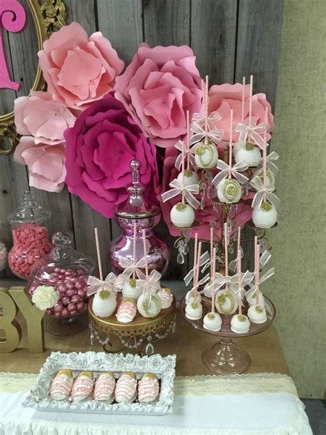 It's a girl Baby Shower Party Ideas   Photo 1 of 13