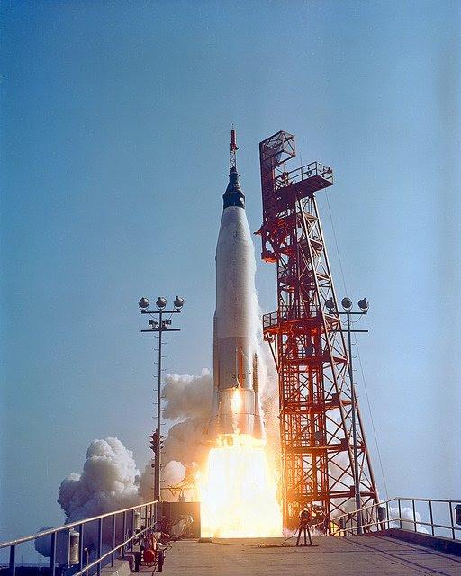 May15-1963-Mercury-Faith7-liftoff