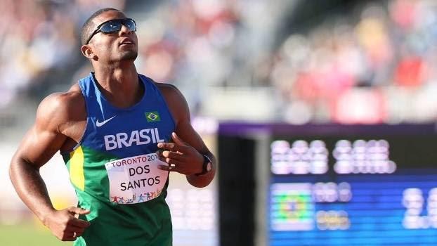 Felipe dos Santos disputa o decatlo pelo Brasil