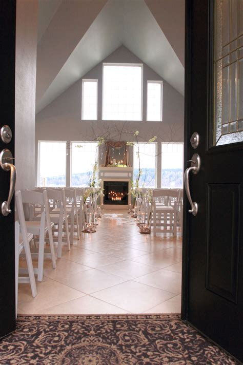 Indoor beach weddings The Edgewater House LOVE! The