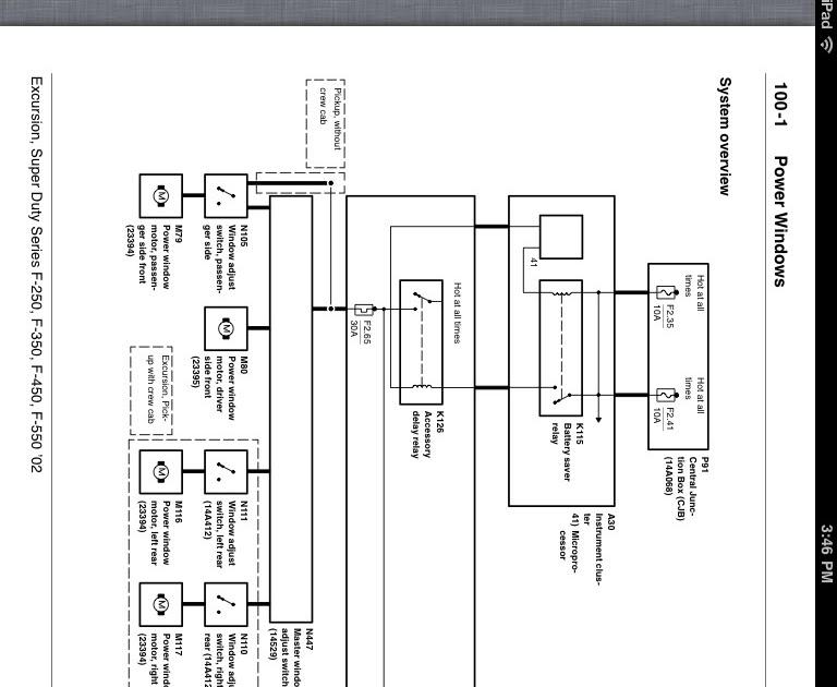 Ford Truck Window Wiring Diagram