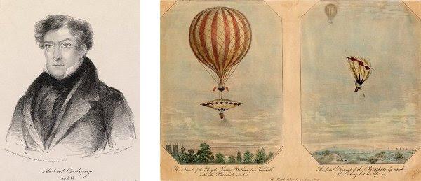 robert cocking and parachute