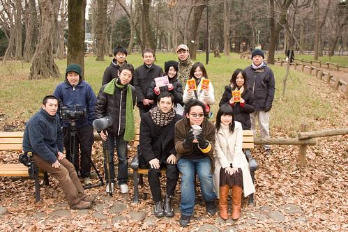 KINGYO cast and crew. January 2009