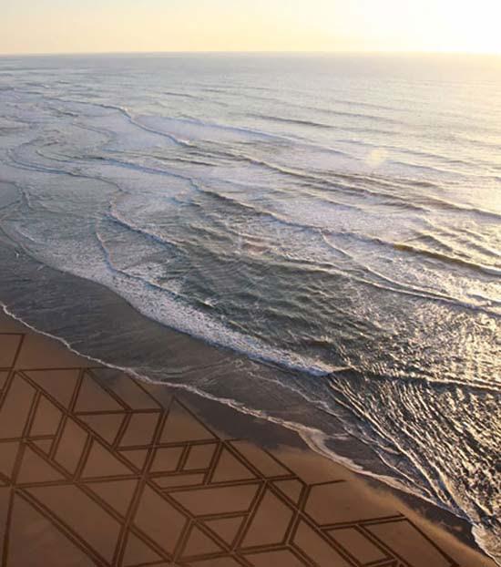 Εξωπραγματική τέχνη σε παραλίες από τον Jim Denevan (27)