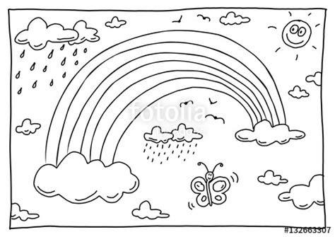 ausmalbilder zum ausdrucken regenbogen - kostenlose malvorlagen ideen