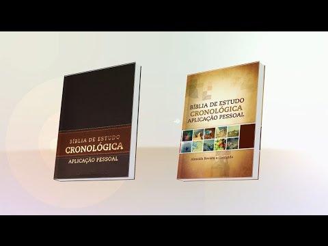 Conheça a Bíblia de Estudo Cronológica Aplicação Pessoal - (Editora CPAD)