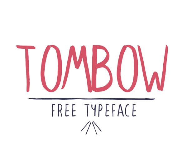 Tombow gratuito Brush Fuente