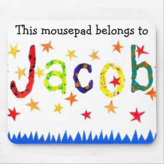 'This Mousepad Belongs to Jacob' mousepad mousepad