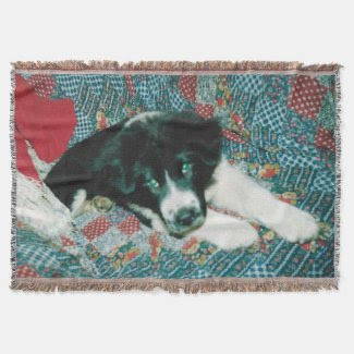 Relax With My Dog Throw Blanket