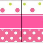 Bandeirinha Sanduiche Páscoa para Meninas: