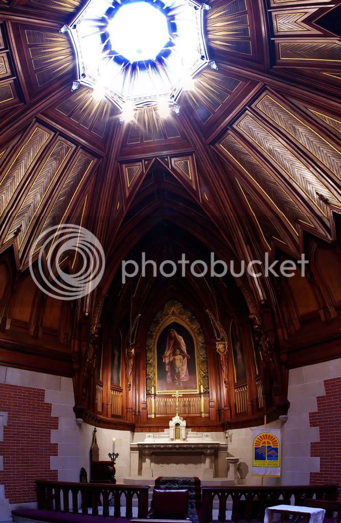 PTGui wooden Chapel