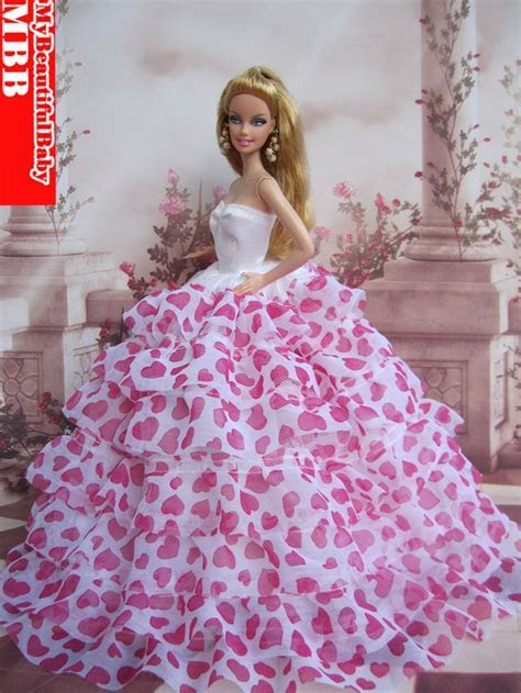 New Handmade Princess Wedding Party Dress Clothes Gown For