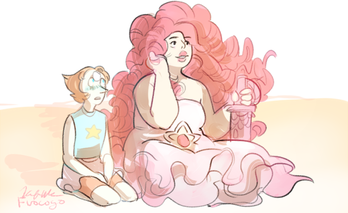 Because a ball of gas in space has absolutely nothing on Rose Quartz