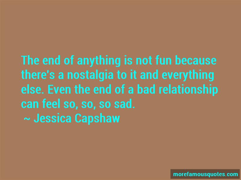 Sad End Of Relationship Quotes Top 3 Quotes About Sad End Of
