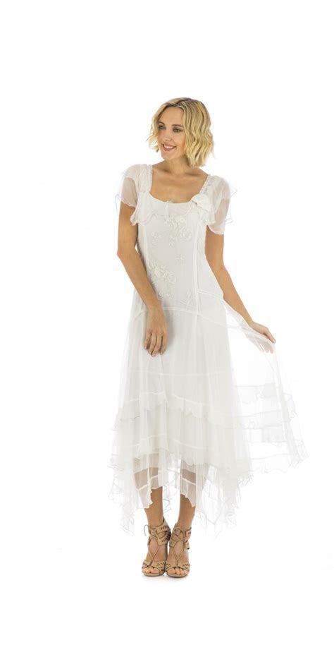 Nataya 40268 Vintage Style Wedding Dress in Ivory