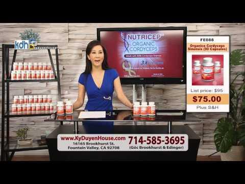 Đông Trùng Hạ Thảo Nutricep Organic Cordyceps giá rẻ mua ở đâu?