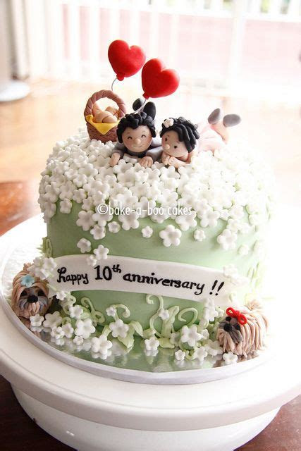 25  best ideas about Anniversary cake designs on Pinterest