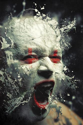 256/365 || Kabuki Scream por dracorubio