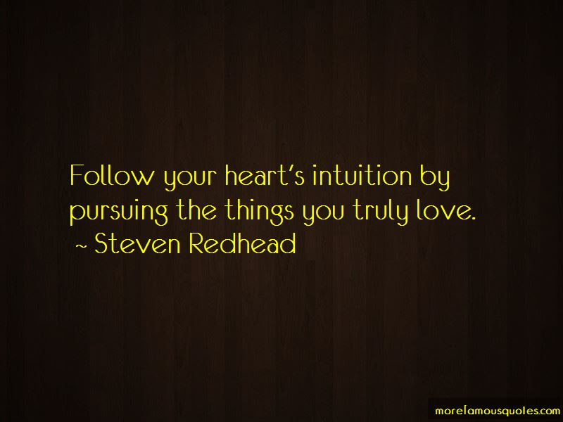 Quotes About Intuition And Love Top 35 Intuition And Love Quotes