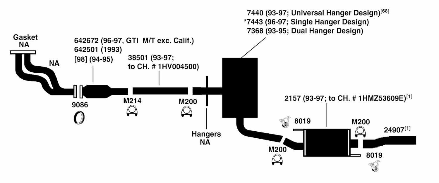 2003 Vw Jetta Exhaust System Diagram