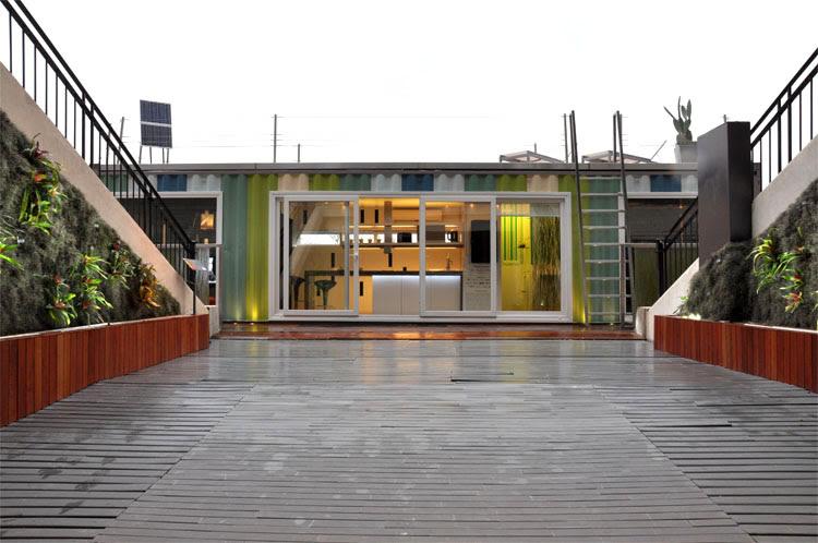 Casa foa 2009 espacio n 29 container vivienda sustentable for Decoracion casa foa