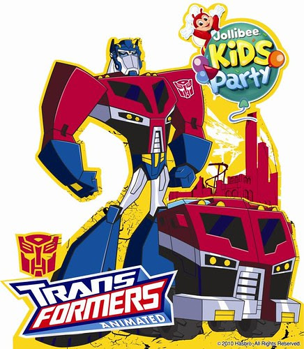 Celebrate A Transformers Birthday Party At Jollibee