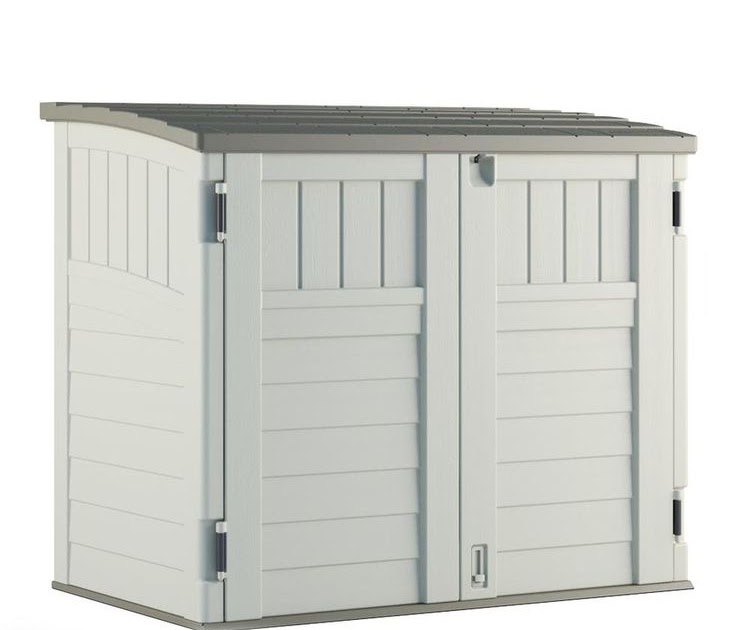 Rubbermaid Large Horizontal Storage Shed 3747 Learn How