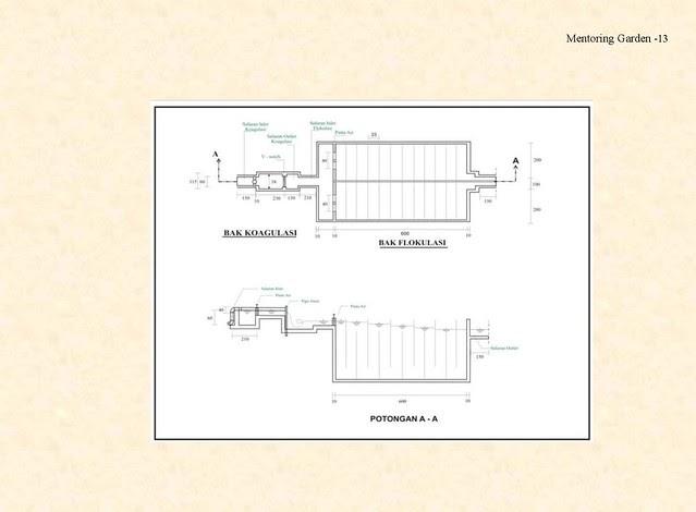 Modul Perencanaan Unit Flokulasi - SPAM