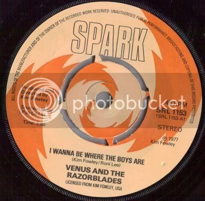 Venus and the Razorblades - I Wanna Be Where the Boys Are